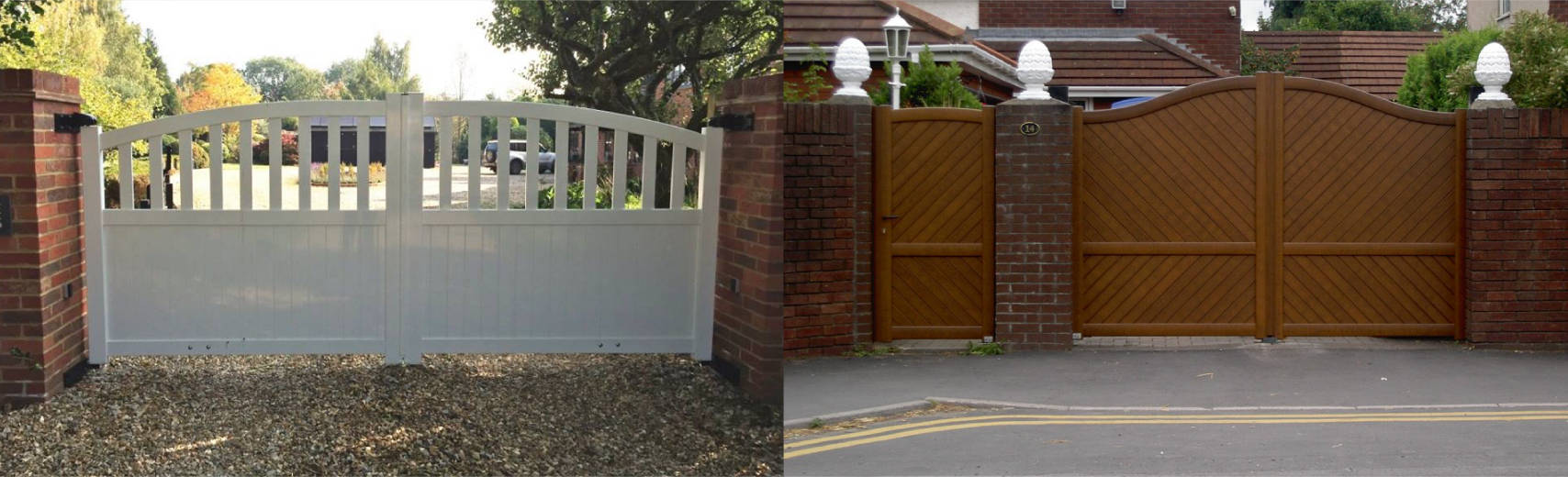 Corporate Swing Hinged Gates