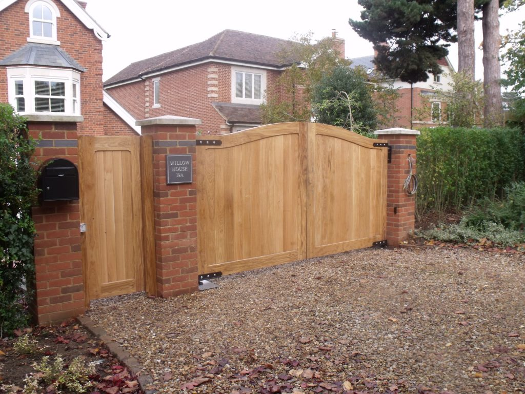 English Oak Gates