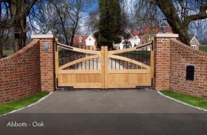 English Oak Gates