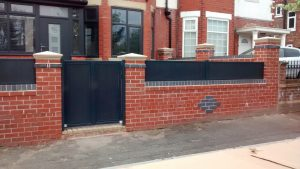 Composite Fencing with matching swing gate