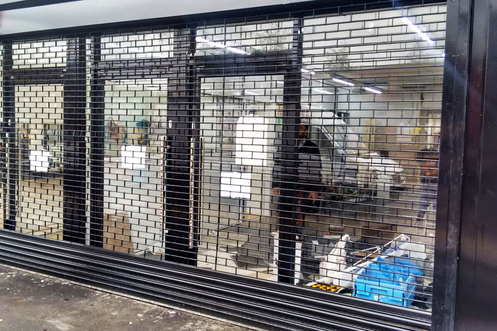 Commercial Security Grilles