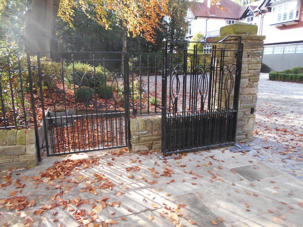 Metal Pedestrian Gate